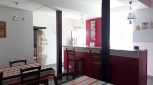 Salle petit déjeuner / bar