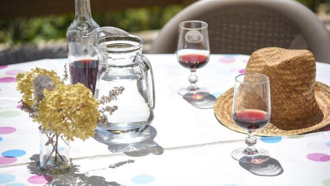 Les petits verres en terrasse